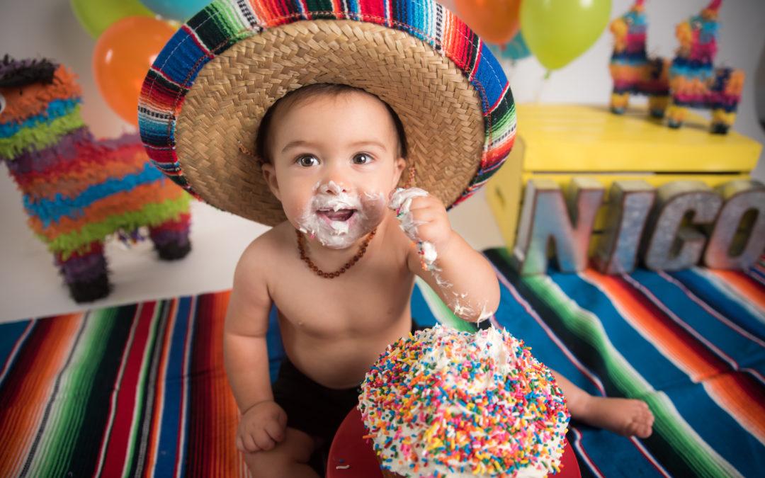 Fiesta first cake smash